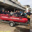 Rettungsboot für die Feuerwehr Miehlen